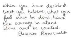 eleanor roosevelt, quotes, sayings, believe, dreams