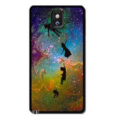 Peter Pan Galaxy Nebula Samsung Galaxy S3 S4 S5 Note 3 Case