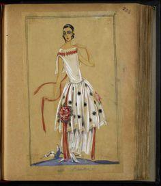 Le Baiser 1923~Image © Patrimoine Lanvin. #Lanvin125