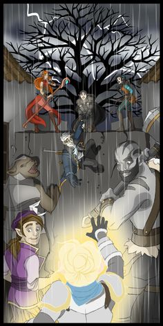 Pike to the Rescue - Critical Role - unknown artist to credit