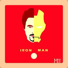 Iron Man made from Corel 12