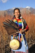 Pat McCabe, Woman Stands Shining - There are not enough videos of Pat online that do justice to the dynamic, passionate and wise woman that I have seen. Navajo Nation, Change Maker, Wise Women, Woman Standing, Enough Is Enough, Artist, Spirit, Painting, Image