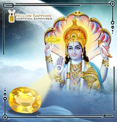 So Pukhraj became the Gemstone of Lord Vishnu and those who worship Lord Vishnu and pray for wealth and happiness are advised to wear Pukhraj and get all there wishes fulfilled by Lord Vishnu himself. Lord Vishnu, Sapphire Gemstone, Best Relationship, Wealth, Worship, Pray, Happiness, Princess Zelda, The Incredibles
