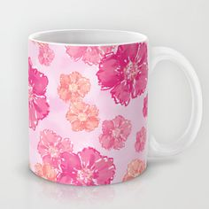 Buy Blossoms Candy Pink by Lisa Argyropoulos as a high quality Mug. Worldwide shipping available at Society6.com. Just one of millions of products…