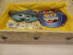 Monster Bash -  Monster Masks Monster Mask, Monster Party, Scary Monsters, Masks, Lunch Box, Bento Box, Face Masks