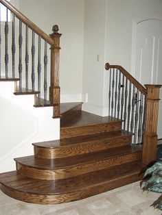 wood and rod iron stair case | Recent Photos The Commons Getty Collection Galleries World Map App ...