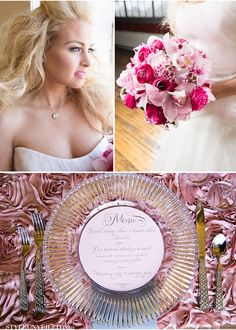 Shades of Pink & Gray Wedding ... Wedding ideas for brides, grooms, parents & planners ... https://itunes.apple.com/us/app/the-gold-wedding-planner/id498112599?ls=1=8 … plus how to organise an entire wedding, without overspending ♥ The Gold Wedding Planner iPhone App ♥