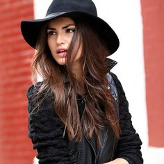 great fall look... hat on trendslove