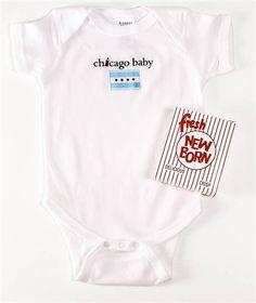 e2d3b52b Chicago Baby Onesie Little Tikes, Baby Onesie, Onesies, Sons, Pregnancy,  Chicago