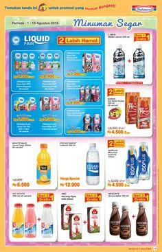 Promo # Super Hemat Minuman Segar Periode 1 - 15 Agustus 2016