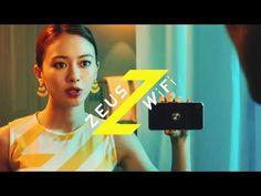 ZEUS WiFi (ゼウスWiFi) テレビCM『ドバドバシャワー篇』 - YouTube Wifi