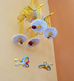Baby mobile crib mobile nursery mobile room by lacartaincantata, $70.00