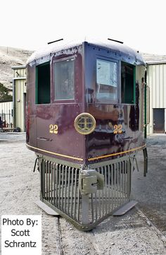 Restored 70 foot McKeen Motor Car