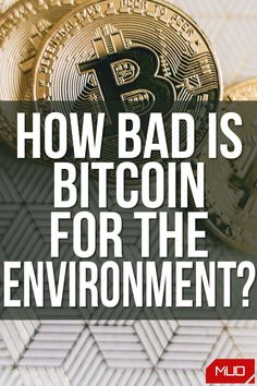 Bitcoin mining uses phenomenal amounts of electricity to perform computational tasks to generate new Bitcoin. Electricity production is generally an environmentally harmful endeavor, and Bitcoin is increasingly contributing to climate change and hurting the planet. #Bitcoin #Cryptocurrency #BTC #Blockchain #Sustainability #Environment #Environmental #Green #Energy #Power #Climate #ClimateChange #ClimateEmergency #Finance