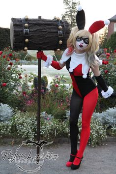 Bunny Harley Quinn. Excellent suicide squad costume for cosplay by RyuuLavitz on…