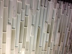 Kitchen backsplash Tile. Love the neutral, green, gray, blue, white mix. If only I could find it for cheaper!