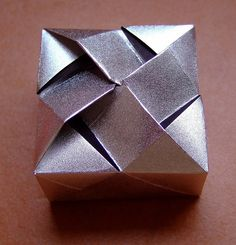 "origami box ""gina"" by evi binzinger, via Flickr"