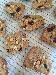 Peanuts småkager med chokolade