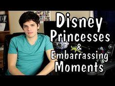 Jordan's Messyges: Disney Princesses & Embarrassing Moments