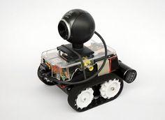 PiBot-B - mobile robot with Raspberry Pi