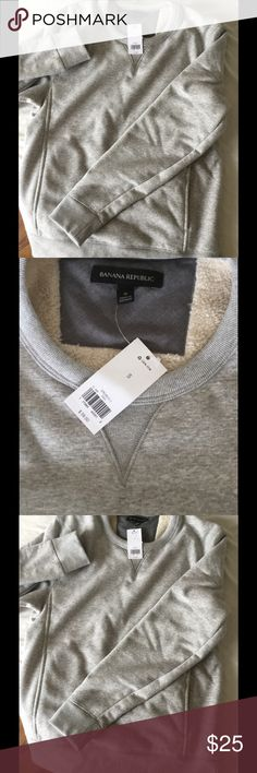 Brand new sweater Banana Republic for man Brand new , never wear it , no mistakes Banana Republic Sweaters Crewneck