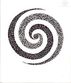 Spiral Tattoo Design Image