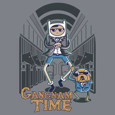 [ Oppa Gangnam Time ] has just appeared on www.ShirtRater.com!