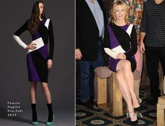Cate Blanchett In Fausto Puglisi – 'The Monuments Men' LA Photocall