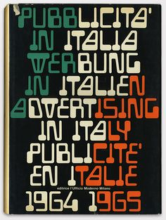 Italian graphic design 1964-5