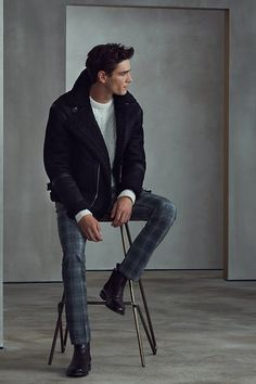 REISS AW17 Menswear Lookbook Look 8