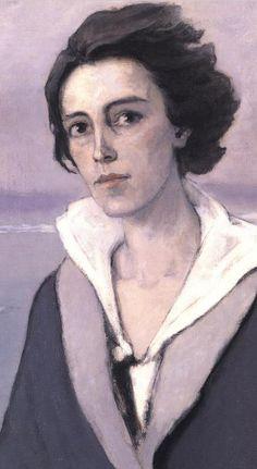 Romaine Brooks, 1874-1970. Autoportrait-1914 (détail).