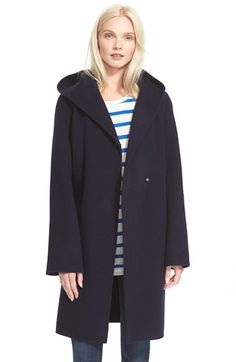 Vince Hooded Coat available at #Nordstrom  - this would be bitchin on you.  Pair with red leather handbag