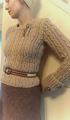 Theodora Goes Wild: Free Pattern Friday - Jumper in Thick Wool A 1936 pattern for a jumper in chunky weight yarn. And it's free!