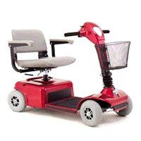 Good Satisfaction Rally Scooter - four Wheel - Candy Apple Red - A14170 01 RED