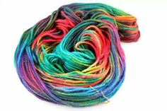 Super Nova : Darn Good Yarn Recycled Silk 3 ply Color Name by Hr Ptrsn  January 14, 2014