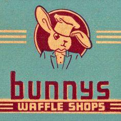 Bunnys Waffle Shops by wackystuff, via Flickr