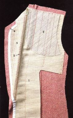 The construction of a jacket: how to apply horse braid to get just the right form and  firmness.