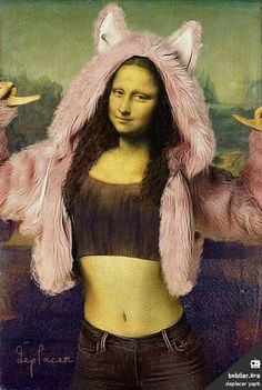 Sketch from Sony Funny Phone Wallpaper, Disney Wallpaper, La Madone, Mona Lisa Parody, Mona Lisa Smile, Arte Pop, Funny Art, Psychedelic Art, Art Plastique