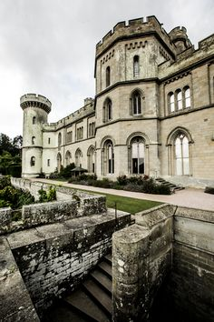 Harms castle, home of the very eccentric lady thomasina harm Architecture Portfolio, Concept Architecture, Ancient Architecture, Architecture Details, Eastnor Castle, British Country, English Castles, England And Scotland, Medieval Castle