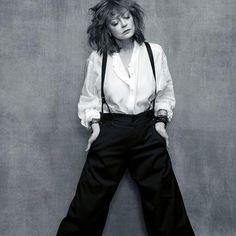 """Susan Sarandon : """"La plupart des femmes survivent avec difficulté à Hollywood"""" Mature Fashion, 60 Fashion, Over 50 Womens Fashion, Fashion Over 40, Fashion Tips, Street Fashion, Xavier Dolan, Rose Byrne, Amy Schumer"""
