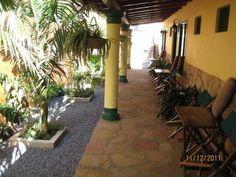 Marios Hotel in Villarrica - Paraguay bei Nacht...
