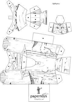 Maquetas para imprimir y armar en papel (megapost) - Taringa!