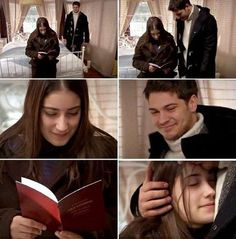 Femir  Forever! Feriha is so glad to have her marriage book in her hand❤️❤️ Repost: @cagatay.ulusoy1990 ❤️ #adiniferihakoydum#femir#feriha