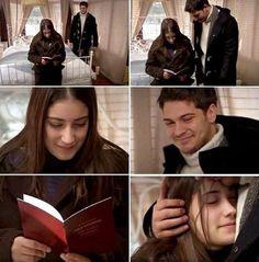 Femir  Forever! Feriha is so glad to have her marriage book in her hand❤️❤️ Repost: @cagatay.ulusoy1990 ❤️ #adiniferihakoydum#femir#feriha