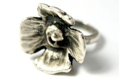 """Danberry"" ring in sterling"