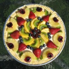 How To Make Pizza: Fruit Pizza   Recipes