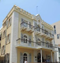 Just north of Jaffa is a tiny, quaint neighborhood of old wooden houses surrounding a beautiful church known as the American Colony of Tel Aviv. Israel Tours, The Colony Hotel, Tel Aviv Israel, The Settlers, Prefabricated Houses, New England Homes, Beautiful Hotels, Shop Plans, Urban Design