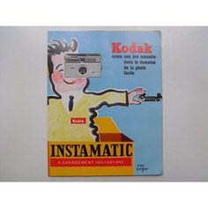 【Kodak INSTAMATIC チラシ 】 サビニャック Savignac サヴィニャック コダック - 雑貨 -【garitto】