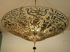 Salizzada San Luca, Fortuny-Lampe by HEN-Magonza - I want to make a Fortuny style chandelier