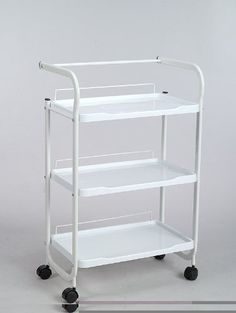 Trolley Esthetician Cart White Metal Frame with Plastic Trays Salon Store http://www.amazon.com/dp/B00R4WN3HE/ref=cm_sw_r_pi_dp_3CC.ub1JEDK28